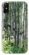 Birch Forest IPhone Case