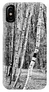 Birch Sentinels IPhone Case