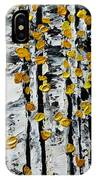 Birch Study Fall IPhone Case