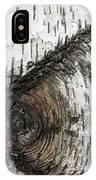 Birch Textures 30 IPhone Case