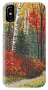 Birch Trail IPhone Case