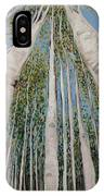 Birch Tree 2 IPhone Case