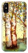 Birch Trees IPhone X Case
