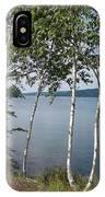 Birches On Sunapee IPhone Case