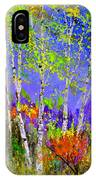 Birchtrees 56412 IPhone Case