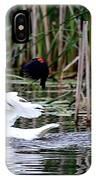 Bird Attack IPhone Case