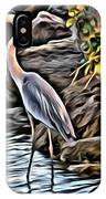 Bird By The Water IPhone Case