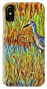 Bird In The Reeds IPhone Case
