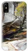 Bird Rock Waterfall IPhone Case