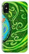 Bird Song Swirl IPhone Case