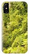 Bird View Of Lush Green Sub-tropical Nz Rainforest IPhone Case