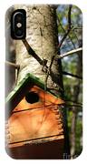 Birdhouse By Line Gagne IPhone Case