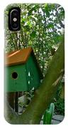 Birdhouse In A Tree IPhone Case