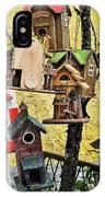 Birdhouse Subdivision IPhone Case