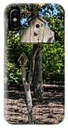 Birdhouses In The Trees IPhone Case