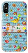 Birds And Flowers For Children IPhone Case