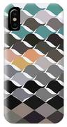 Birds Flock Abstract Low Polygon Background IPhone Case
