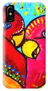 Birds In Love Pop Art IPhone Case