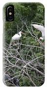 Birds In The Brush IPhone Case