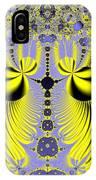 Birds Of Paradise Fractal 160 IPhone Case