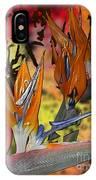 Birds Of Paradise IPhone Case