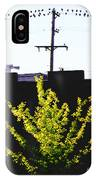 Birds On A Wire In Cooper Young IPhone Case