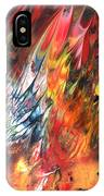 Birds On Fire IPhone Case