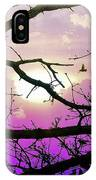 Birds Roosting For Night IPhone Case