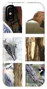 Birds - Woodpeckers - Boxed Cards IPhone Case