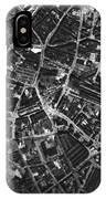 Birmingham, Historical Aerial Photograph IPhone Case
