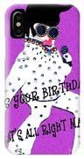 Birthday Mama IPhone Case