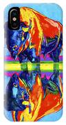 Bison Reflections IPhone Case