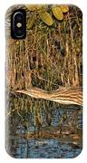 Bittern Stretched Out IPhone Case