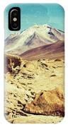 Bizarre Landscape Bolivia Old Postcard IPhone Case