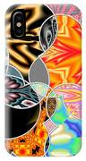 Bizzarro Colorful Psychedelic Floral Abstract IPhone Case