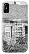 Black And White Cottage IPhone Case