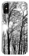 Black And White Forest IPhone Case