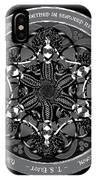 Black And White Gothic Celtic Mermaids IPhone X Case