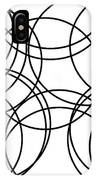 Black And White Hoops IPhone Case