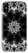 Black And White Medallion 1 IPhone Case