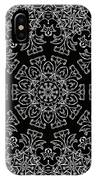 Black And White Medallion 7 IPhone Case