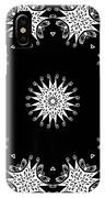 Black And White Medallion 9 IPhone Case