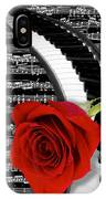 Black And White Music Collage IPhone Case