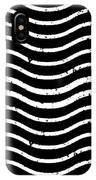Black And White Postage IPhone Case