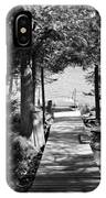 Black And White Walkway IPhone Case
