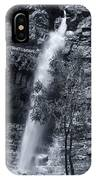 Black And White Waterfall IPhone Case