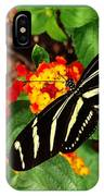 Black And Yellow Butterfly IPhone Case