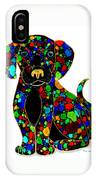 Black Dog 2 IPhone Case