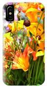 Black Eyed Susan Bouquet IPhone Case