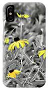 Black-eyed Susan Field IPhone Case
